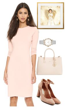 """dress"" by masayuki4499 ❤ liked on Polyvore featuring Susana Monaco, L'Autre Chose and Furla"