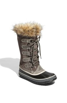 Realized this morning I don't have legit boots anymore (just Emu's and what not)....probably should get a pair of Sorel's for this winter,