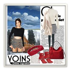 """""""Yoins 22  http://yoins.me/1PrM4be"""" by dinka1-749 ❤ liked on Polyvore featuring Gucci, Giuseppe Zanotti, women's clothing, women's fashion, women, female, woman, misses, juniors and yoins"""