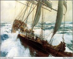 "Christopher Blossom ~ ""Heavy Weather"""