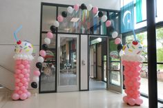 50s party decorations for school party/dance.