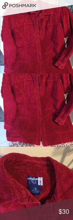 Venzenia cordaroy long jacket/Blazer NWOT'S nice burgundy color. Size 18/20. Lane Bryant brand venzenia Jackets & Coats Blazers