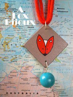 Vivere a piedi nudi living barefooted: Fox on wood bijoux - Arriva la volpe!