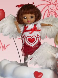 Wilde Imagination~My Little Valentine Izzy~Amelia Thimble~Robert Tonner Doll #DollswithClothingAccessories