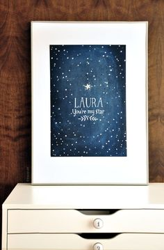 i am so getting this for the next baby shower i go to. http://www.etsy.com/listing/92312729/youre-my-star-glow-in-the-dark
