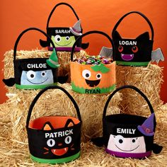 halloween treat bag | Personalized Halloween Treat Bags, Totes & Pails at Personal Creations