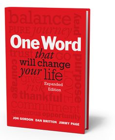 Got this as a gift....GREAT BOOK - One Word That Will Change Your Life