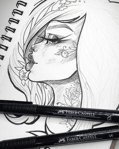 Doodles still keeping me sane ✍✨ #wip #graphicartery #art #artist #artwork #sketch #drawing #illustration #tattoo #occult #witch #longhair #art_spotlight #art_empire #artcollective #ink #tattoos #artistsoninstagram #artoftheday #myart