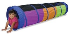 Stimulate your child's imagination for creative play with the Peek-A-Boo I See U 6 ft Tunnel with Lip by Pacific Play Tents. This colorful tunnel in colors of l Kids Tents, Play Tents, Play Tunnel, Indoor Play, Kids Store, Catalogue, Orange And Purple, Peek A Boos, Baby Shop