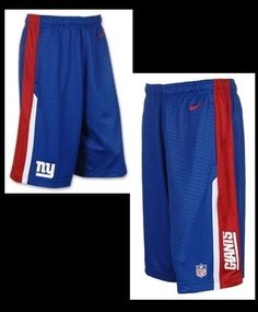 MEN S NIKE ONFIELD DRI-FIT NEW YORK GIANTS FOOTBALL SPEED FLY SHORTS SM LG  XL  Nike  ShirtsTops 48102e5e0