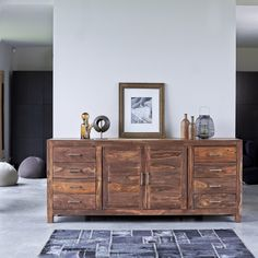 Tikamoon, interior furniture specialists, supply sideboards in high quality solid woof. Take a look at the Tikamoon online store. Solid Wood Sideboard, Dining Room Sideboard, Kitchen Dresser, Teak Sideboard, Wood Dresser, Console, Side Board, Quality Furniture, Cool Furniture