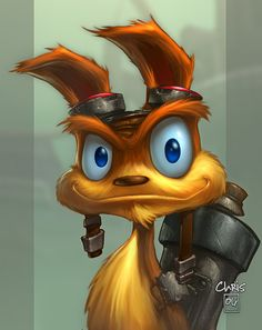 Daxter... by liquidology.deviantart.com on @deviantART