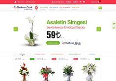 Türkiye'nin ilk online çiçekçileri arasında yer alan Herkese Çiçek, E-Ticaret, Kurumsal Kimlik, SEO, Web Tasarım, Web Yazılım, Mobil Uygulama ve Baskı Hizmetlerinde Acıbadem Medya'yı tercih etti.  http://www.acibademmedya.com/web-tasarim-referanslari/62/herkese-cicek.html