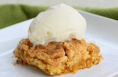 Pumpkin Pie Dump Cake- So easy and tastes like fall in our mouth. Throw it together and prepared to be wowed.