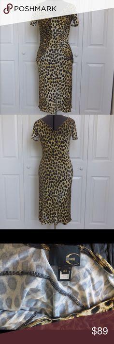 Size 44 Just Cavalli Leopard Dress Great condition Just Cavalli Dresses
