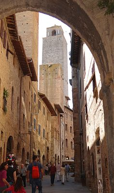 San Gimignano, Italy  Love this little town.    Spend several days = you'll be glad you did.