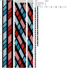 13 around bead crochet rope pattern Crochet Bracelet Pattern, Loom Bracelet Patterns, Crochet Beaded Bracelets, Bead Crochet Patterns, Bead Crochet Rope, Beaded Jewelry Patterns, Peyote Patterns, Beading Patterns, Beaded Crochet