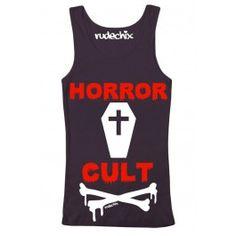 Women's Horror Cult Tank Top #rudechix #halloween #spooky