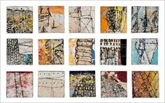 Eva Isaksen - Works on Canvas - Little Notes to Myself