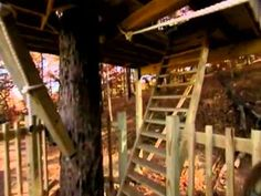 Extreme Makeover: Home Edition Treehouse Rope Bridge
