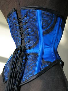 Lovesick Corsets: ideas for lace overlays