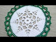 "How to crochet big doily 17"" diameter - Part 1 of 3 - YouTube"