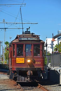 Pacific Electric, 500-Class Interurban, San Pedro, California, USA
