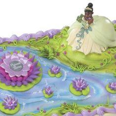 Princess & The Frog Cake Kit