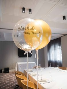 Bespoke Customised Gold Balloon with Gold and White Confetti  #Gold #Luxury #Lux #Goldballoons #Confettiballoons #Confetti #Bridal #Bridalshower #Hensdayideas #Bridalideas #Adelaideweddings #Adelaideballoons #Classy #Elegant #Hens #Girls #Balloons #Hensday #Decor #Partydecor #Confettigoldballoons #PuffandPop