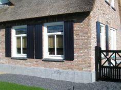 Shutters, Bungalow, Beautiful Homes, Windows, Doors, Outdoor Decor, Garden, Houses, Home Decor