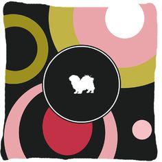 Tibetan Spaniel Indoor/Outdoor Throw Pillow