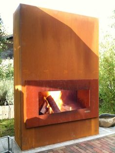 Corten fire wide - a wood style addresses warmth of spirit especially when wet in or buy your beautiful garden...refreshment time!