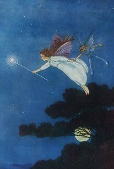 """The Little Green Road to Fairyland. When I was a kid I had this amazing book illustrated by Ida Rentoul Outhwaite."""