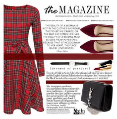 """The all kinds of red!"" by m-zineta ❤ liked on Polyvore featuring Ole Mathiesen, Chanel, Yves Saint Laurent, Anja, women's clothing, women, female, woman, misses and juniors"