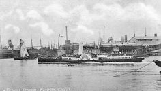 Paddle Steamer WAVERLEY built by McIntyre & Co in 1885 for Peter Campbell & Alexander Campbell, Glasgow, Passenger