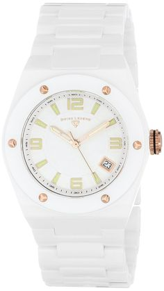 Women s watches  Shop online for Ceramic Throttle White Ceramic Rose-Tone  Accents White Dial 1e1dec39cae5