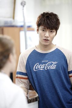 Lee Min Ho stills for and BTS for Heirs