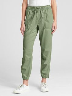 a496e4203 Gap Womens Girlfriend Utility Joggers Twig Gap Uk, Slim Legs, Gap Women,  Cargo
