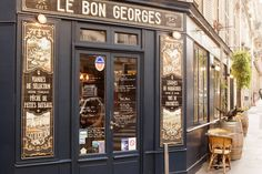 Le Bon Georges, a post-card-pretty, traditional-style bistro in the 9th arrondissement