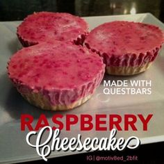 QuestBar Raspberry Cheesecake | Motiv8ed 2b Fit Blog