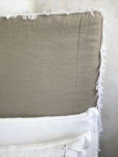 Tête de lit Apache lin Jaipur beige