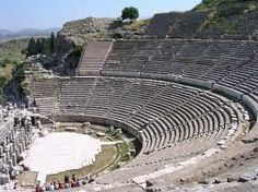 Ephesus, Turkey.  Auditorium where Paul preached to the Ephesians.  AMAZING ACOUSTICS!!