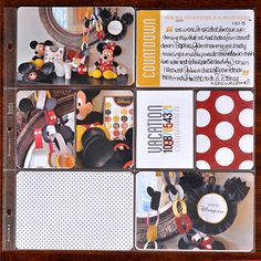 Disney Trip Countdown - Vacation Project Life page