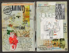 https://flic.kr/p/P7gfvg | [GRATITUDE] MIND |   This is an easy one for me, to find gratitude for my mind. Even with the cognitive disruptions resulting from my illness, it remains my greatest strength, and the source of my greatest pleasures.   For 30 Days of Gratitude, an art journaling challenge at The Lilypad. Elements from Lynne-Marie, Nanci Rowe Janitz, Angie Young, Natalie, Sara Gleason, Unica, Studio Q, Tangie Baxter, and TlcCreations. The brain map on the right is a page I made…