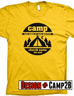 Summer Camp Shirt Design Summer Camp T Shirts Pinterest