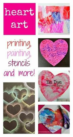 Lovely simple Valentine's crafts