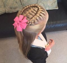 964 Likes, 10 Kommentare - Kleine Mädchen-Frisuren ( zum Insta . Little Girls Natural Hairstyles, Girls Hairdos, Baby Girl Hairstyles, Princess Hairstyles, Box Braids Hairstyles, Pretty Hairstyles, Roman Hairstyles, Teenage Hairstyles, Blonde Hairstyles