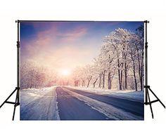7x5ft Sunset Snowy Roads Christmas Photography Backdrop B... https://www.amazon.com/dp/B01GV26TX2/ref=cm_sw_r_pi_dp_x_vfm.xbQQDJPAW