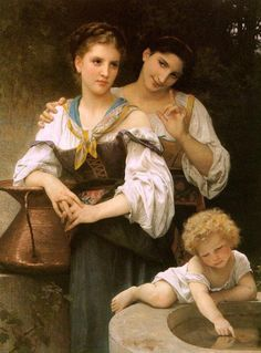 The Secret, by William Adolphe Bouguereau