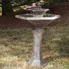 Solar Bird Baths and Fountains